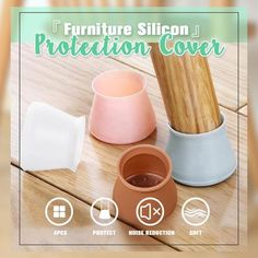Furniture Silicon Protection Cover ( New Year Special Prices ) – Pretty Little Deal Store Table Legs, A Table, Legs For Tables, Dining Table, Metal Bistro Chairs, New Year Special, Diy Home Repair, Furniture Legs, Cream Furniture