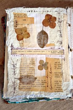 Today I want to share with you my journal pages, and also a fun recycling project. First, the pages from my art journal. Fabric Journals, Journal Paper, Art Journal Pages, Art Journals, Journal Notebook, Journal Covers, Bullet Journals, Paper Art, Paper Crafts