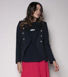 The Blazer - Black // We Are The Others – wearetheothers Blazer Jacket, Adidas Jacket, Blazer Fashion, Black Blazers, Passion For Fashion, Double Breasted, Style Inspiration, Elegant, Casual