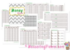 A simple money binder with FREE printables to help you keep reins on your money.