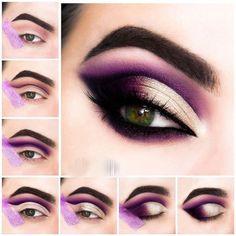 36 Ideas Eye Makeup Purple Gold Make Up Purple Eye Makeup Eye Gold Ideas Makeup . 36 Ideas Eye Makeup Purple Gold Make Up Purple Eye Makeup Eye Gold Ideas Makeup Purple Eye Makeup Steps, Makeup Eye Looks, Eye Makeup Art, Cute Makeup, Gorgeous Makeup, Makeup Inspo, Makeup Inspiration, Beauty Makeup, Makeup Ideas