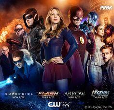 """De """"The Flash"""", """"Arrow"""" e mais: The CW divulga primeiro pôster promocional da temporada!"""