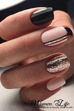 33 Trendy Natural Short Square Nails Design For Spring Nails 2020 - — Beautiful short natural square nails design acrylic short square nails, natural short squ - Acrylic Nail Designs, Nail Art Designs, Nails Design, Awesome Nail Designs, Latest Nail Designs, Latest Nail Art, Pretty Nail Designs, Design Art, Winter Nails