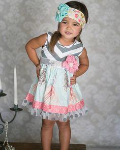 Giggle Moon Singing Praises Greta Dress(click for details)! Size 6 month-size 8.