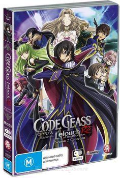 Code Geass: Lelouch of the Rebellion DVD