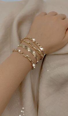 18K Gold Filled Chain Bracelets