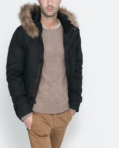 FOUR POCKET PARKA- ZARA