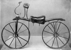 An early bicycle in the collection of the Victoria Albert Museum London