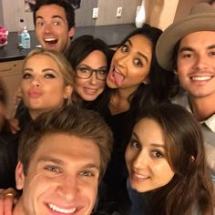 Pretty Little Liars cast at Children's Hospital L.A