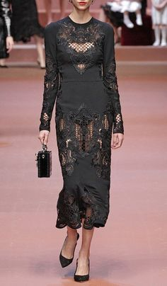 Dolce & Gabbana Fall/Winter 2015 Trunkshow Look 55 on Moda Operandi