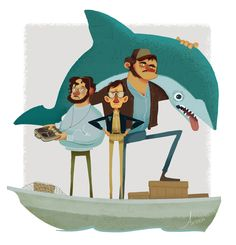 Jaws #artwork #popculture #jaws