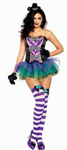 """The description of this said """"circus"""" but I think it may actually be intended to be a sort of female Mad Hatter."""