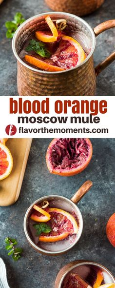 Blood Orange Moscow