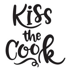 Silhouette Design Store: kiss the cook
