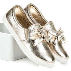 Dámske topánky slip on 100-715GO