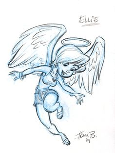 Ellie the angel v.1 by tombancroft on deviantART