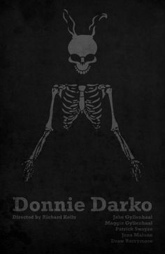 Donnie Darko / Minimal Movie Posters, Polish film, Skeletons