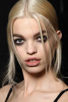 Hair Guido   Make-up by François Nars for NARS. Marc Jacobs Collection Fall 2012.