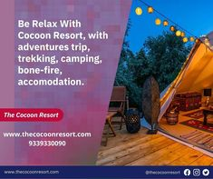 Cocoon Resorts is providing you the best accommodation for rooms and adventurous things❣️❣️ . . #TheCocoonResort #hmara_pahad #PlanNowTravelLater #uttrakhand_dairies #campingtrip #campinglife #naturelovers #Staycation #cocooncamp #pangot Nainital, Best Resorts, Camping Life, Camps, Staycation, Trekking, Adventure Travel, Relax, Rooms