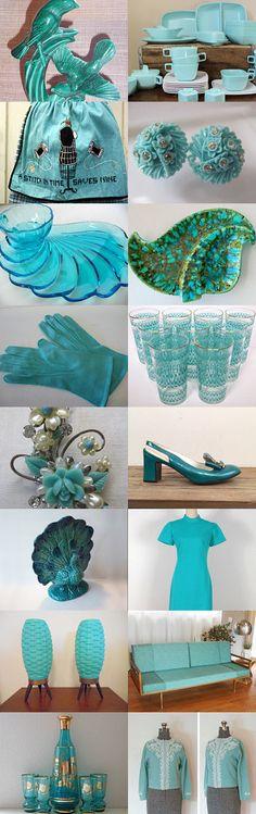 Aqua by Madelon Madelon on Etsy--Pinned with TreasuryPin.com