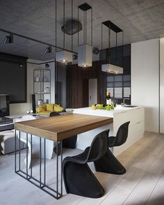 Comprehending standard interior design elements will certainly assist you create a kitchen that is both useful as well as gorgeous. Find the most effective kitchen interior design, ideas & ideas to match your design. House Design, Interior, Interior Architecture, Interior Design Kitchen, Home Decor, Interior Design Kitchen Small, House Interior, Apartment Decor, Kitchen Design