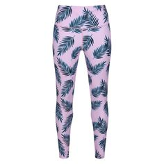 In a fresh leafy print for summer yoga and Pilates, our baby pink Paradiso Leggings are full-length and super stylish. High performing with a high waistband, they keep you tucked in, cool and dry.  Feel confident to squat low and stretch high in this quality LYCRA fabric that stays opaque even when damp. The elasticated drawstring waistband and removal of back pocket ensures absolute comfort for floorwork. Yoga Leggings, Workout Leggings, Squats, Confident, Pilates, Cute Outfits, Pocket, Fresh, Stylish