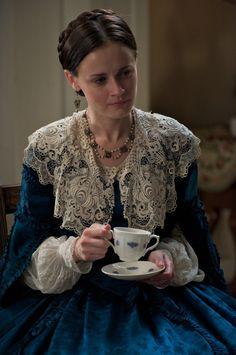Alexis Bledel as Sarah Weston in The Conspirator (2010).