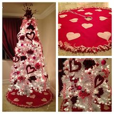 """4,214 Likes, 141 Comments - Bridget Marquardt (@bridgetmarquardt) on Instagram: """"I'm trying something new this year: A Holiday tree! Starting w/Valentine's Day!"""""""