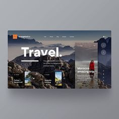 Web Design & Inspiration в Instagram: «Travel Website For 'OrangeKed.ru' 🔥🙌🏻 | 👉🏻 Have a QUESTION? 📩 DM us! — ▪️ Follow @theuiuxcollective for daily ui, ux and web inspiration! — 👇🏻…»
