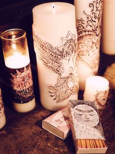 Free People Henna Lotus Pillar Candle at Free People Clothing Boutique