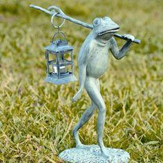 SPI Home Walking Frog Lantern