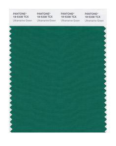 Pantone Smart Swatch 18-5338 Ultramrn Green