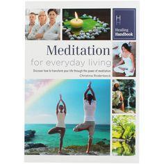Healing Handbook - Meditation For Everyday Living by Christina Rodenbeck Transform Your Life, It Works, Meditation, Alternative, Spirituality, Polaroid Film, Healing, Movie Posters, Film Poster