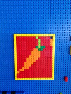 Play with our wall made of LEGO® bricks for your next stay! Submit the LEGO masterpieces you make at YOTEL to win! We post our favorites every Monday! #masterpiecemonday #yotel #yotelny #nyc #LEGO #play #mylegomasterpiece #carrots