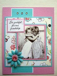 handmade friendship card my artwork pinterest friendship cards