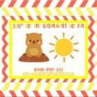 100th Day and Groundhogs Day Pack
