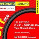15º BTT XCO C.N.E. / Gondar Jovem – Taça Manuel Abreu