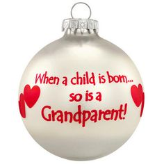 Grandparents Christmas Ornament - Family & Special People - Bronner's Exclusive - Christmas Ornaments - bronners - Categories - Bronner's CHRISTmas Wonderland