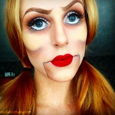 possible make-up for Annabelle, the Conjuring
