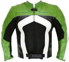 Razer Armor Leather Motorcycle Jacket For Men