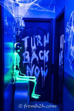 Create glow in the dark messages with laundry detergent