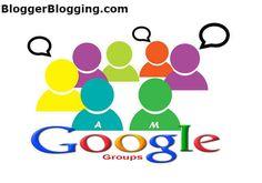 Add Google Groups Web Forum in Blogger