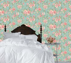 Haute Couture Removable Wallpaper-Dainty by AccentWallCustoms