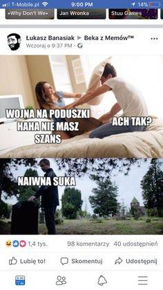 Dankest Memes, Funny Memes, Jokes, Polish Memes, Wtf Funny, Poland, Haha, Funny Pictures, Humor