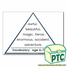 VCOP Resources - Primary Treasure Chest Teaching Activities, Teaching Ideas, Ourselves Topic, English Resources, Treasure Chest, Vocabulary, Literacy, Crafts For Kids, Foundation