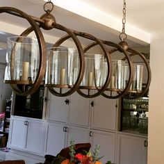 Maximus Rectangular Chandelier Lighting | Currey and Company