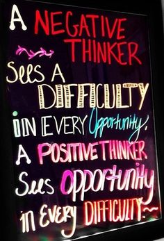 The reason positivity is so important-it's contagious. Others feed off of people who are positive-be the light!