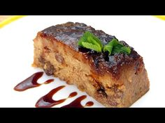 BUDIN de pan o PUDIN, el mejor de los POSTRES FACILES - YouTube Spanish Food, Meatloaf, Cooking Time, Tapas, Banana Bread, Delicious Desserts, Good Food, Steak, Dinner