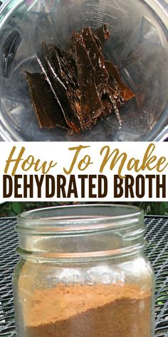 How To Make Dehydrated Broth Broth is the foundation of the GAPS diet One of the pillars of all healthy diets worldwide according to Dr Kate Shanahan and it is featured. Dehydrated Vegetables, Dehydrated Food Recipes, Plat Vegan, Canned Food Storage, Nourishing Traditions, Homemade Spices, Homemade Seasonings, Canning Recipes, Canning Tips