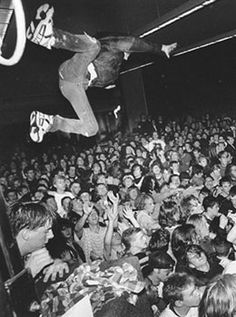 More stage diving